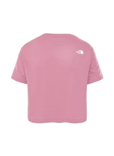 The North Face Train N Logo Kadın T-Shirt Pembe Renkli